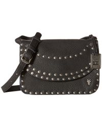 Frye | Black Nikki Nail Head Crossbody | Lyst