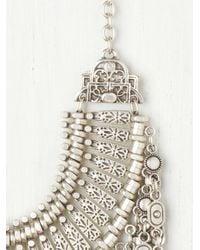 Free People | Metallic Antalya Coin Collar | Lyst