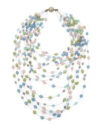 Giorgio Armani - Blue Necklace - Lyst