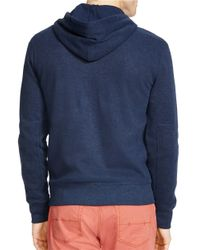Polo Ralph Lauren | Blue French-rib Full-zip Hoodie for Men | Lyst