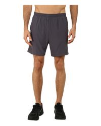 "Asics | Gray 2-n-1® Woven Short 6"" for Men 