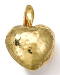 Ippolita | Metallic 18k Gold Small Heart Charm | Lyst