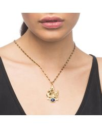 Lulu Frost - Metallic Lake Charm Necklace - Lyst