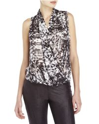 Parker - Gray Grae Printed Top - Lyst