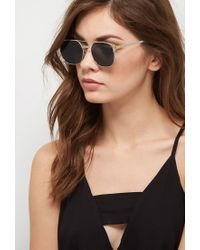 Forever 21 - Metallic Spitfire Lo Fi Sunglasses - Lyst
