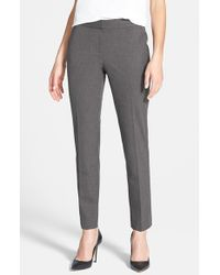 Vince Camuto | Gray Skinny Ankle Pants | Lyst