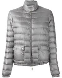 Moncler | Gray Lans Quilted Jacket | Lyst