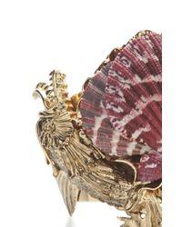 Fausto Puglisi   Purple Shell Cuff   Lyst