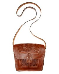 Patricia Nash - Brown Tooled Marciano Crossbody - Lyst
