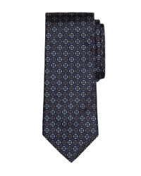 Brooks Brothers | Blue Medallion Tie for Men | Lyst