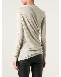 Isabel Marant - Natural Long Sleeve T-shirt - Lyst