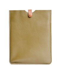 N'damus London - Brown Ipad 2 Sleeve Olive - Lyst
