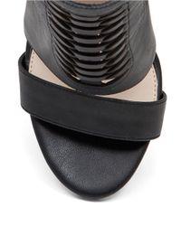 Jessica Simpson | Black Rendell Leather Sandals | Lyst