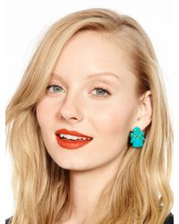 kate spade new york | Blue Color Pop Statement Studs | Lyst
