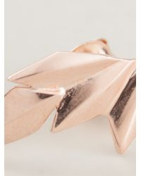 Maria Black | Pink 'wing' Right Single Earring | Lyst