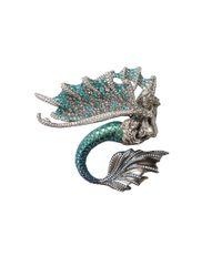 Arunashi - Blue Paraiba Mermaid Pin/Pendant - Lyst