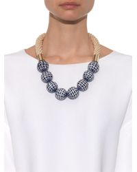 Weekend by Maxmara - Blue Lesena Necklace - Lyst