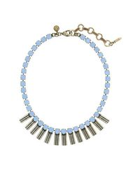Loren Hope | Blue Arista Petite Necklace | Lyst