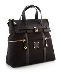 Henri Bendel - Black Jetsetter Convertible Backpack - Lyst