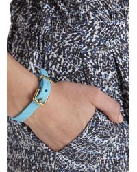 Marc By Marc Jacobs | Rubber Bandz Blue Bracelet | Lyst