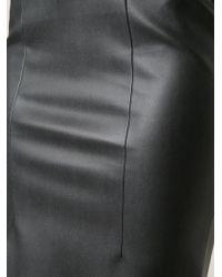 Cedric Charlier | Black Pencil Skirt | Lyst