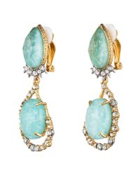 Alexis Bittar - Blue Gold Muse D'Or Vine Clip Earring - Lyst