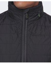 BOSS Green Black Quilted Jelgar Jacket for men