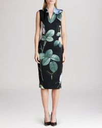 Ted Baker | Black Dress - Ravina Distinguished Rose | Lyst