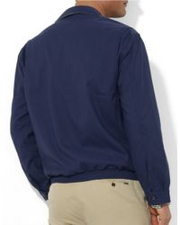 Polo Ralph Lauren | Blue Bi-Swing Windbreaker for Men | Lyst