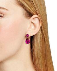 Kate Spade   Pink Fancy That Drop Earrings   Lyst