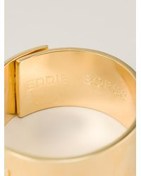 Eddie Borgo - Metallic Safety Chain Cuff - Lyst