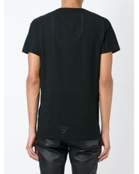 Tom Rebl - Black Printed T-shirt for Men - Lyst