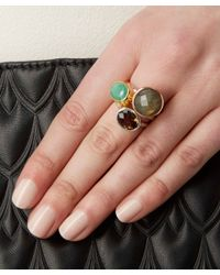 Monica Vinader - Metallic Silver Smoky Quartz Candy Ring - Lyst