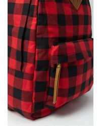 Forever 21 | Red Classic Plaid Backpack | Lyst