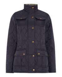 Barbour - Blue Ruskin Quilted Utility Jacket - Lyst