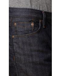 Burberry | Blue Steadman Resinated Slim Fit Jeans for Men | Lyst