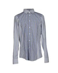 Bikkembergs | Blue Shirt for Men | Lyst