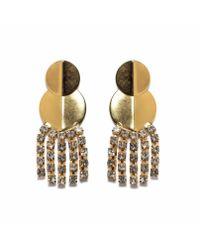 Lizzie Fortunato | Metallic Imperial City Earrings | Lyst