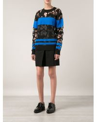 Alexander Wang | Black 'burn Out' Pullover | Lyst