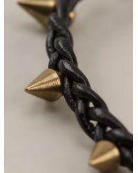 Isabel Marant | Black Braided Bracelet | Lyst