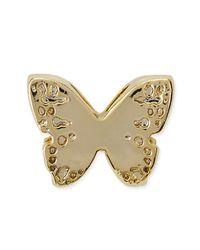 Kendra Scott - Metallic 14k Gold Plated Butterfly Charm - Lyst