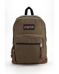 Jansport - Green Right Pack Edge Backpack - Lyst