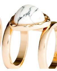 H&M | Metallic 2-pack Rings | Lyst