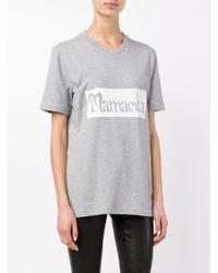 House of Holland - Gray Mamacita T-shirt - Lyst