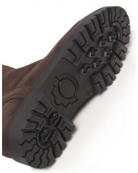 Jules B - Brown Mens Suede Shearling Lined Boots for Men - Lyst