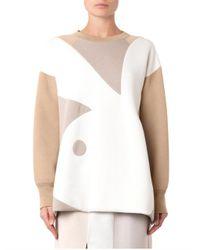 Marc Jacobs - Natural Playboy Bunny Wool-Blend Sweatshirt - Lyst