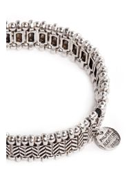 Philippe Audibert - Metallic Watson Elasticated Bracelet - Lyst