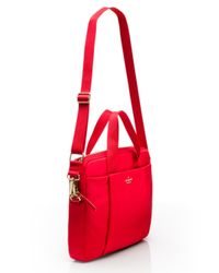 kate spade new york | Red Classic Nylon Commuter Laptop Bag | Lyst