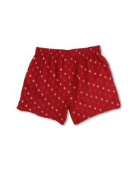 Original Penguin - Red Penguin Woven Boxer for Men - Lyst