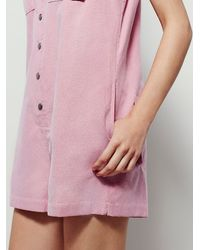 Free People | Pink Womens Sensual Shapeless Romper | Lyst
